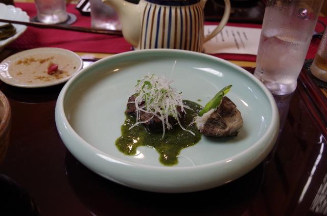 鳥取県産黒毛和牛のステーキ