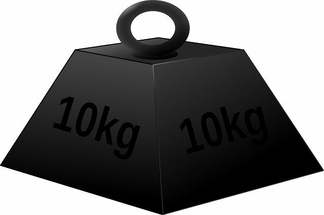 10kgの重り