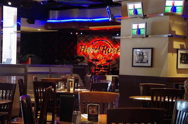 Hard Rock Cafe 店内