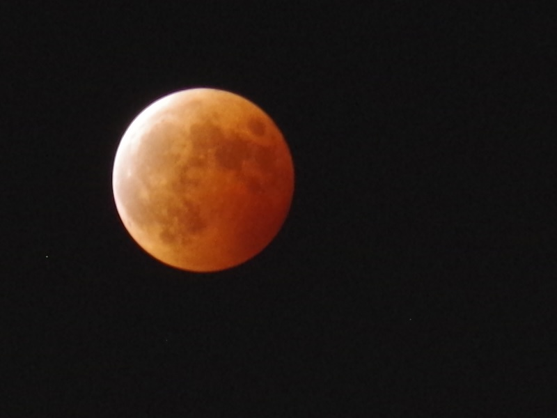 2014年10月8日 皆既月食