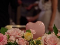 弥生町にあるカフェで結婚式の2次会♪