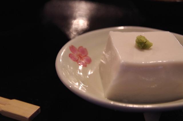 生ゴマ豆腐