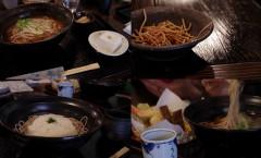 高野山で食べた蕎麦