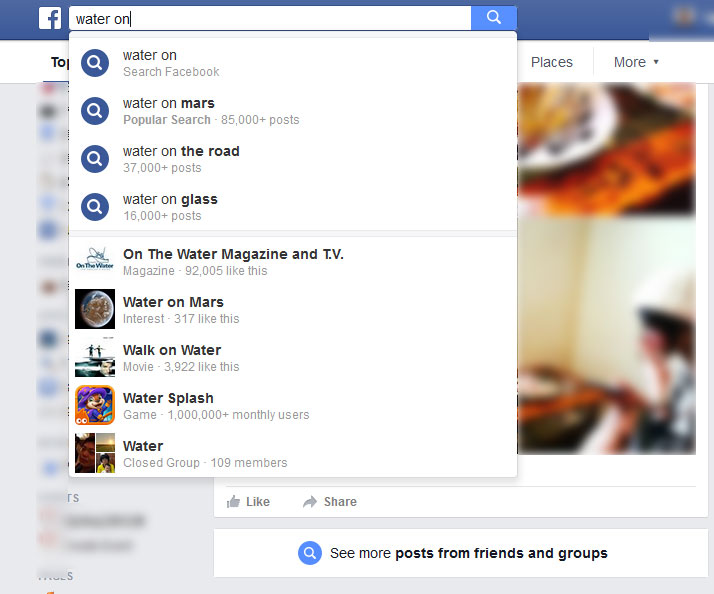 Facebook Search1 (Language US)