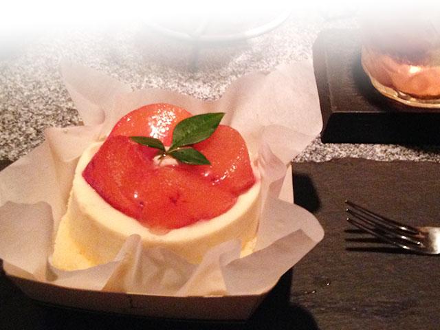 柿のケーキ