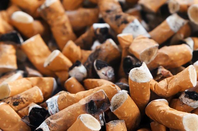沢山のタバコ