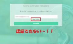 Tsuのメール認証ができない
