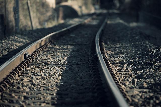 電車のレール